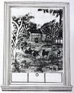 AMERICAN PRIMITIVE LANDSCAPENew England, Circa 1820-1830