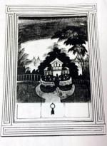 LANDSCAPE OF MEDITERRANEAN INSPIRATION American, Circa 1840