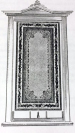 Figure 4: BORDERED SHADE American, Circa 1860
